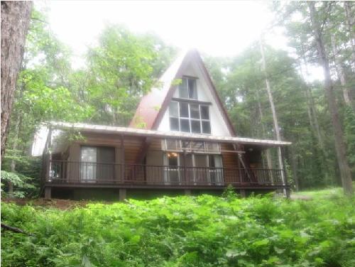 オゾン満ちる森の赤い三角屋根